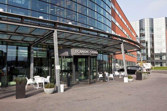 Scandic Sydhavnen Entrance