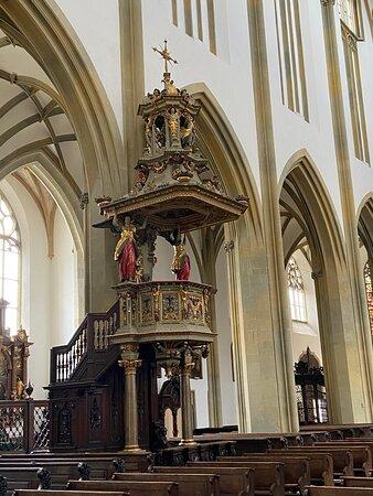 Kanzel in St. Ulrich und Afra