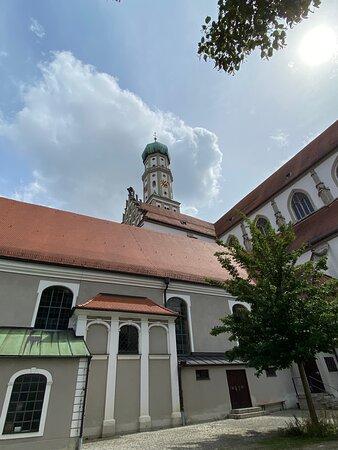 Zwiebeltum von St. Ulrich und Afra