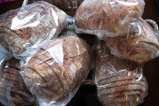 A selection of our breads available instore.