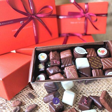 Balloboite assortiment de chocolats