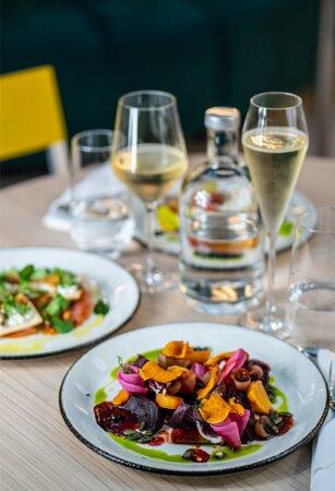 ''Salad of roasted beetroot''