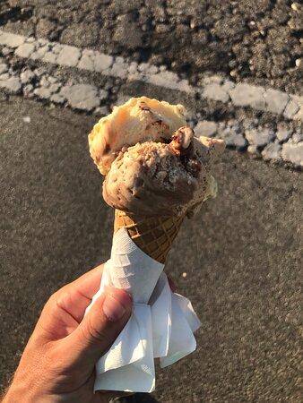 Gelateria Fragoloso Eis zmrzlina Bibione