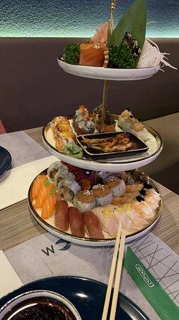 Perfecte sushi!