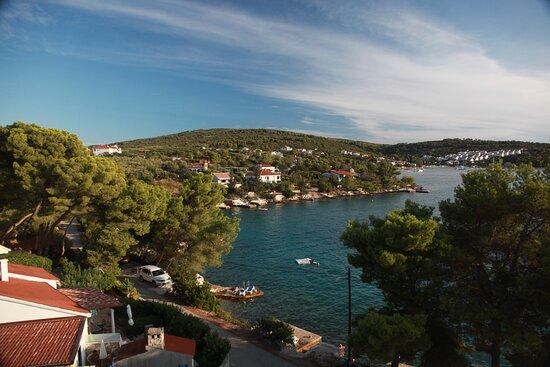 Necujam, Croatia: Вид с балкона