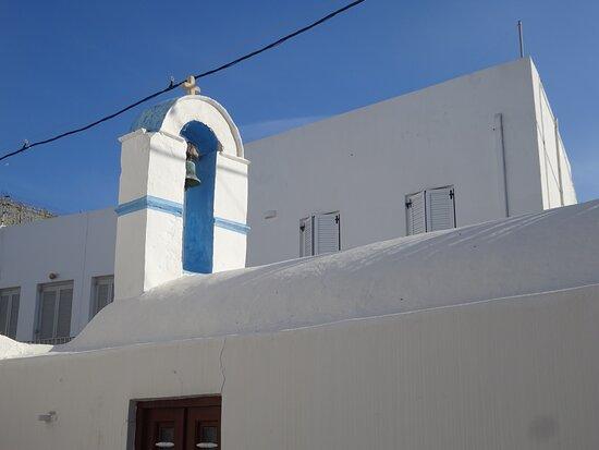 Traditional settlement of Parikia - Paros, Greece