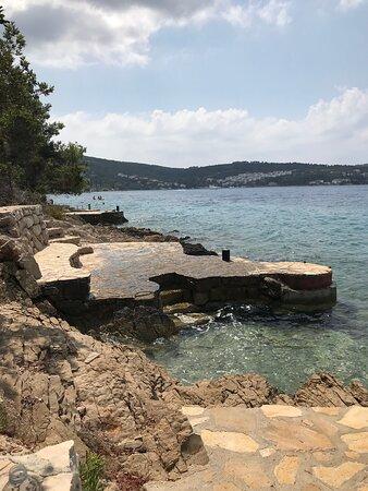 Necujam, Croatia: Пляж