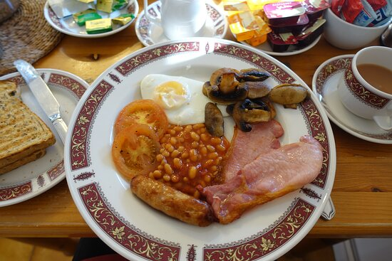 Amazing breakfast cooked by Howard