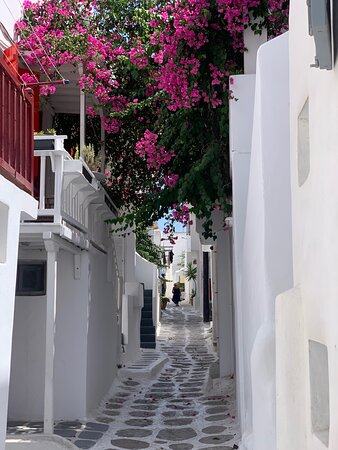 Nearby walkways through old town.