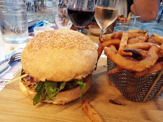 Burgers foie gras