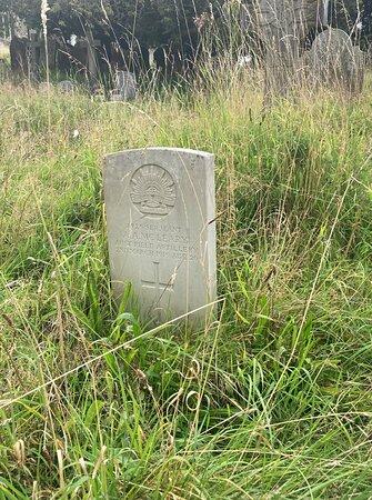 2.  Commonwealth War Graves, Westerham, Kent;  the grave of Sergeant Alexander Allan McLeary, 3rd Australian Field Artillery; date of death 2 March 1919;  age 26