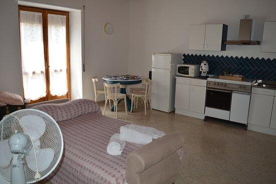 soggiorno appartamento sole