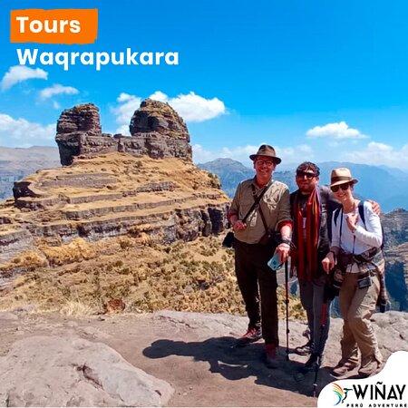 🦙𝗨𝗡 𝗗𝗜𝗔 𝗖𝗢𝗠𝗣𝗟𝗘𝗧𝗢 𝗘𝗡 𝗪𝗔𝗤𝗥𝗔𝗣𝗨𝗞𝗔𝗥𝗔.🦜🇵🇪 . . . #waqrapukara conjunto arqueológico incaico ubicada en la comunidad campesina de Huayqui todo un misterio por descubrir.✈