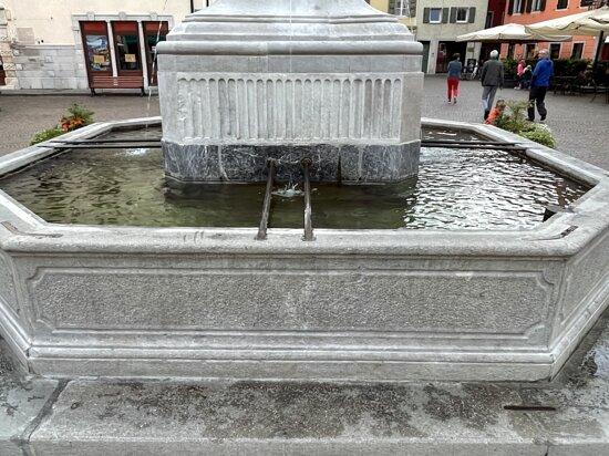 Il centro della piazza