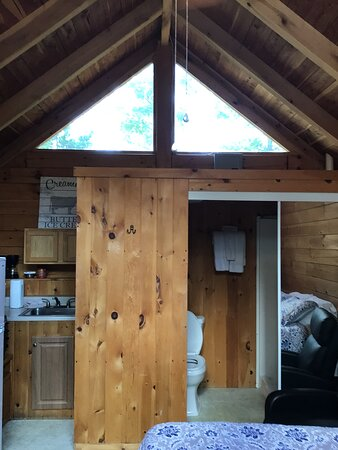 Colombia, KY: Make Little Bear at Kozy Haven Log Cabin Rentals in Columbia, KY your next getaway destination,