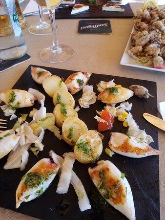 calamaretti alla piastra