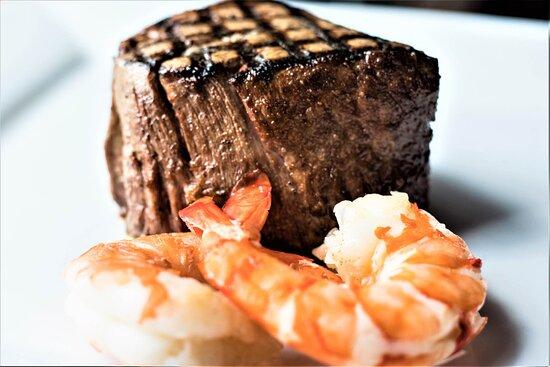 Addison, TX: Prime Filet with Shrimp