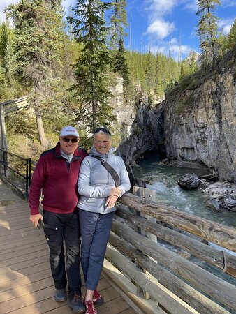 We walked at the stunning Marble Canyon.
