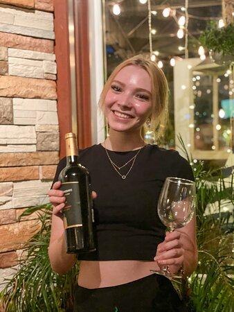 Incredible wine selection