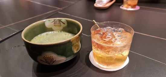 Hot Matcha & Umeshu