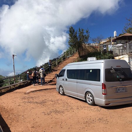 The highest point of Phu Thap Boek