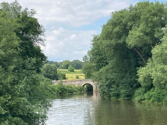 Teston Lock And The River Medway