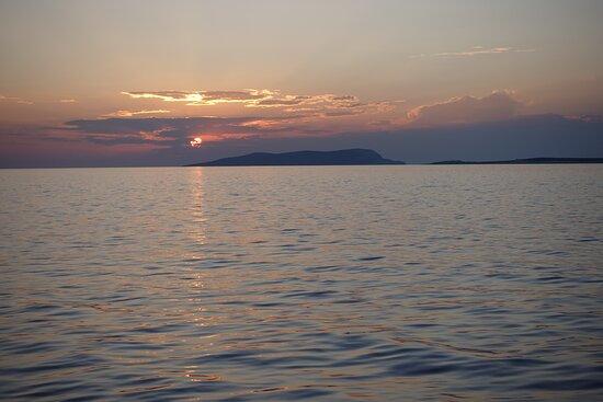 Linaria, Greece: Sunset on the Restia