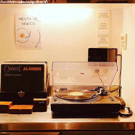 Music is amazing, and you can even buy vinyls.