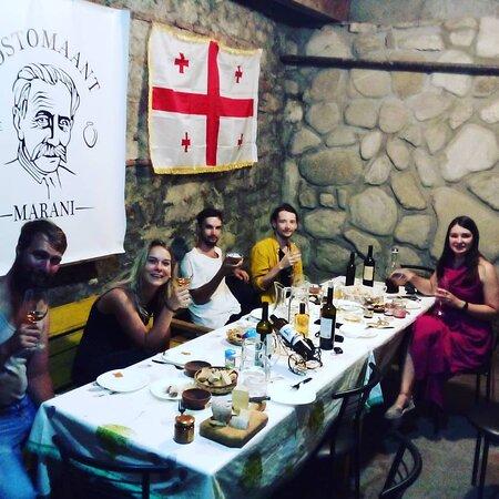 Family wine cellar Rostomaant Marani