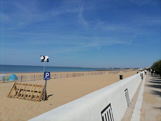 la plage de Chatelaillon le 02/09/2021