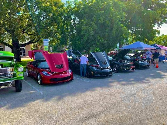 Highlights from the Wilton Manors Car Show! 🚗