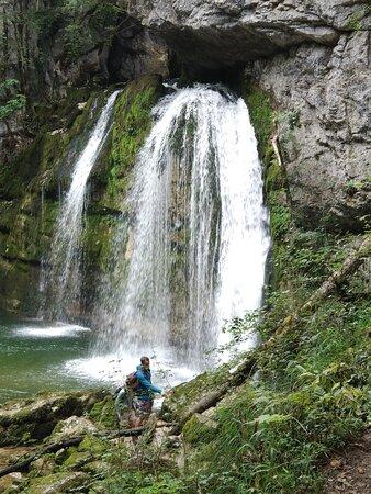 cascade des Combes
