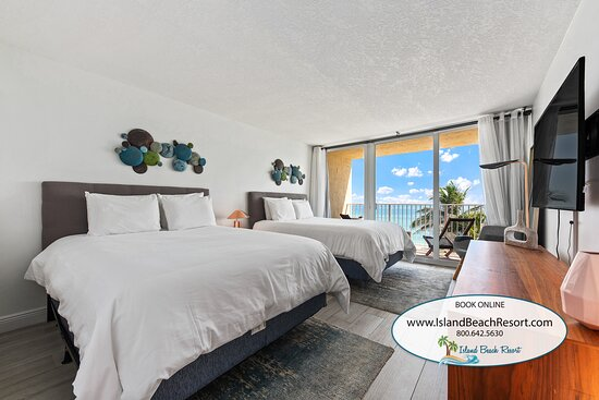 Condo 403 at Island Beach Resort has ocean views and the property has an onsite restaurant called Shuckers