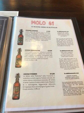 Pizzeria Ristorante Molo 61 Restaurant restauracia Bibione Italien