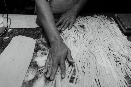 Home-made pasta