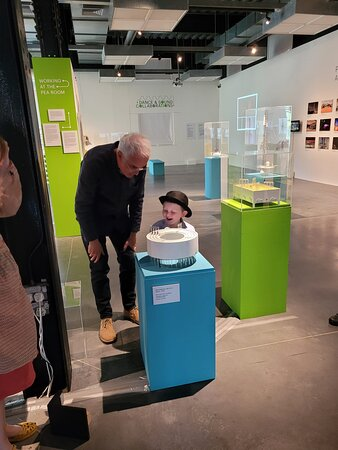 Art being brought to life, for all ages