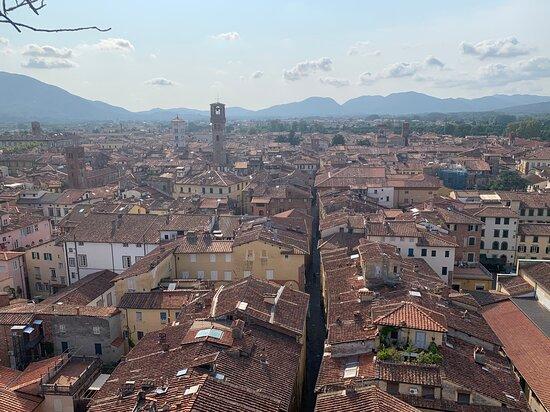 Lucca, Italien: Panorama della città