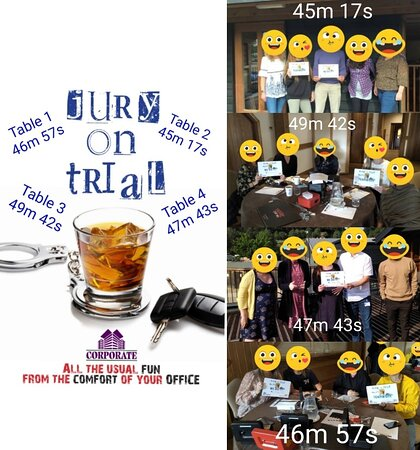 Well done to the teams today 👏🏽👏🏽  Jury on Trial - Corporate  #corporate #corporateevents #corporateevent #escaperoomgame #escaperoomware #escaperoom #escaperooms #escape #foryoupage #fypage #fyp #instagood #ware #hoddesdon #harlow #hertford #broxbourne #stevenage #cheshunt