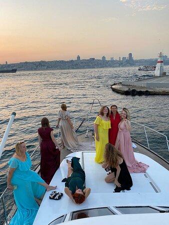 Istanbul Sunset Yacht Cruise