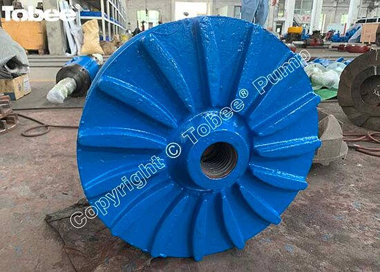 China: Tobee 6x4 DAH and 6x4 EAH Slurry Pump Wet-end Parts Impeller E4147A05, Volute Liner E4110A05 are painting and package finished to their new home Email: Sales7@tobeepump.com Web: www.tobeepump.com   www.slurrypumpsupply.com   www.tobee.store   www.tobee.cc