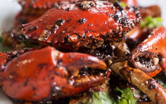 Kuala Lumpur, Malaysia: Black Pepar Crab