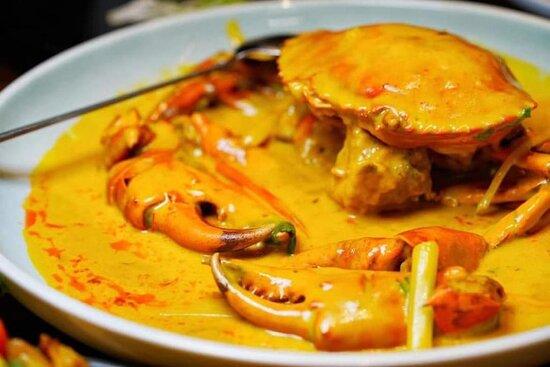 Kuala Lumpur, Malaysia: curry Crab