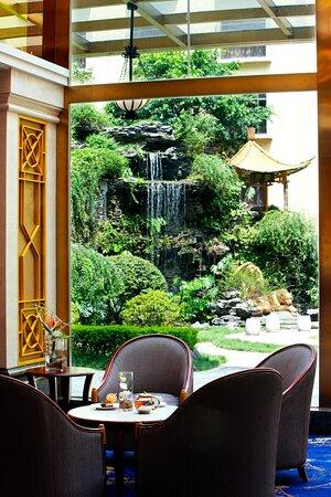 Garden View From Lobby Bar