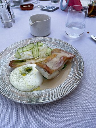 Turbot with Champagne Sauce