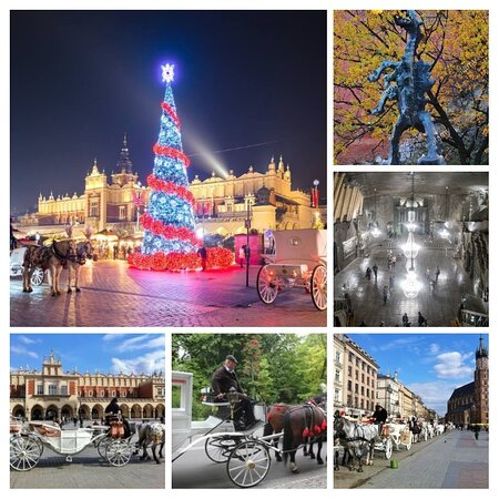Cracovia, Polonia: Best Xmas market I've been to, colourful, friendly, hotels even the cheaper you're well looked after. Very magical look, photos giving a look of fantasy. Buildings, especially churches etc have beautifully carved stonework. Salt mines a must as all altars carved out of salt, light chystals for chandeliers too - has to be seen to be believed