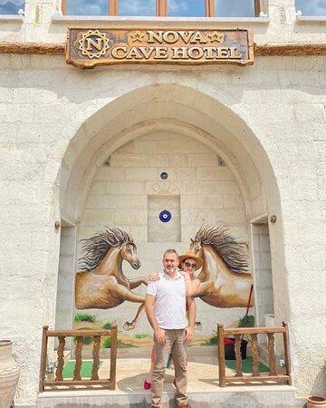Mükemmel bir mekan Nova Cave hotel