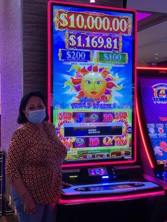 Club Serrano member Maria $10,967.97 on Sept. 2, 2021.