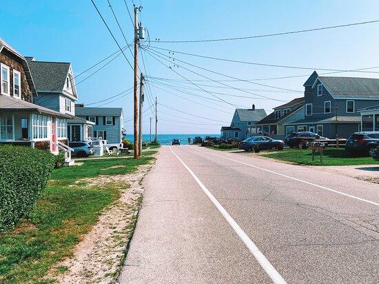 Short walk from hotel to beach!