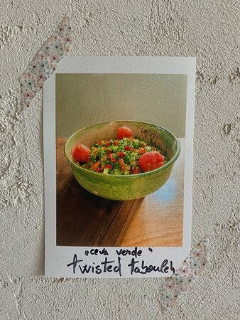 """salată twisted tabouleh"""