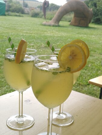 Cooling drinks for hot summer days